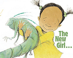 The New Girl and Me by Jacqui Robbins, art by Matt Phelan
